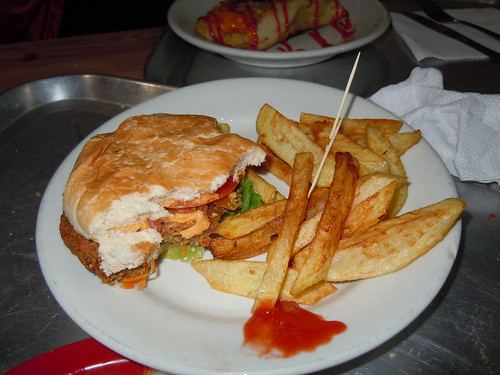 Veggie Burger @ Govinda's, Bogota