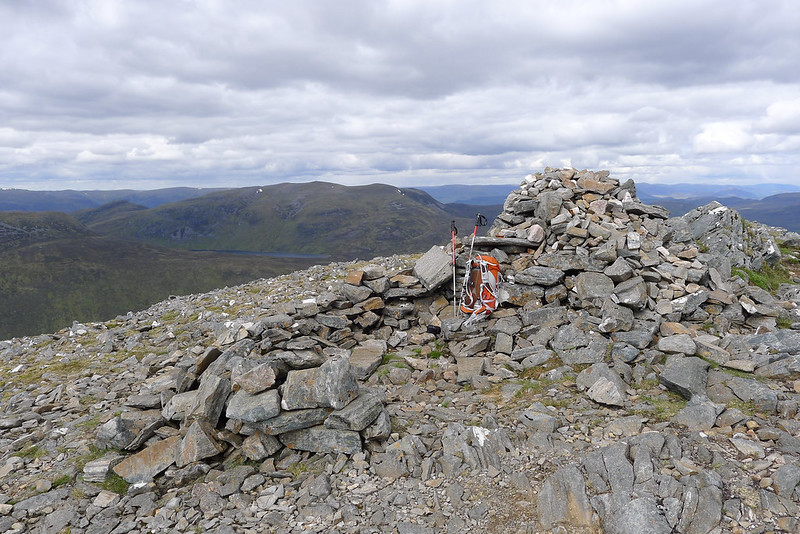 Summit cairn of Carn Dearg