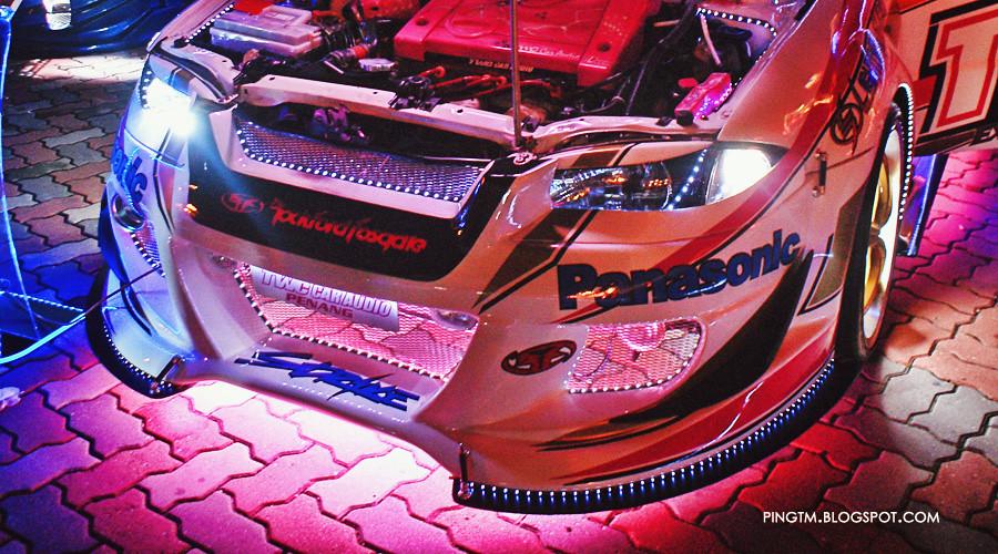 TWC Proton Satria Pink Neon