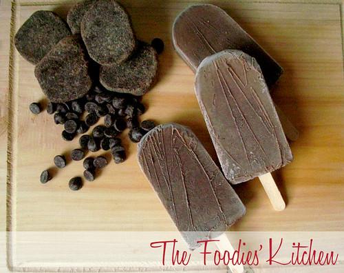 Hot Chocolate Ice Pops