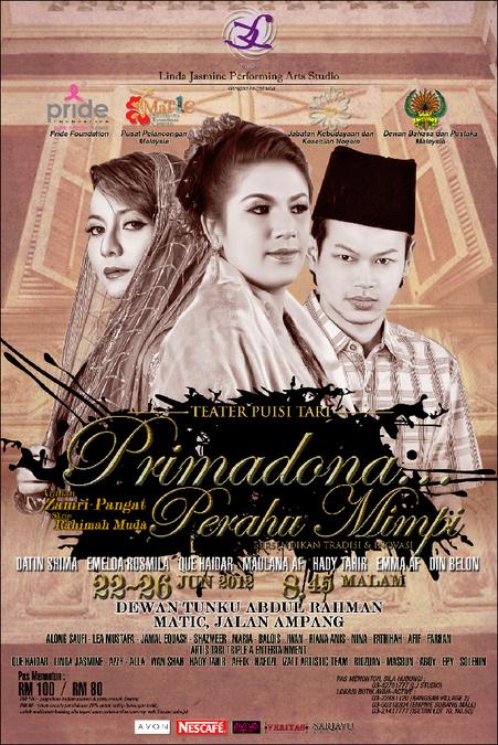 Teater Puisi Tari Primadona Perahu Mimpi