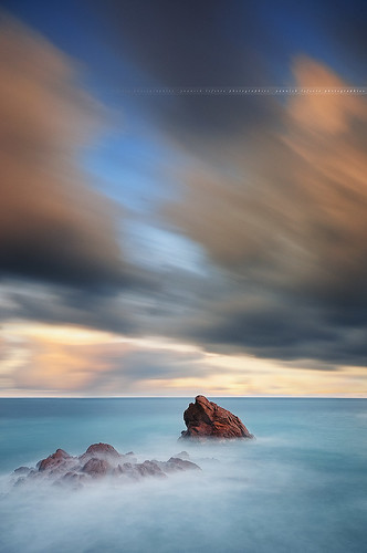 longexposure sunset seascape france photoshop landscape nikon rocks raw nef cannes tripod wideangle ps paysage dri manfrotto frenchriviera d300 nd400 sigma1020 poselongue nikoncapturenx capturenx2 ©yannicklefevre||photography filtrendhoya