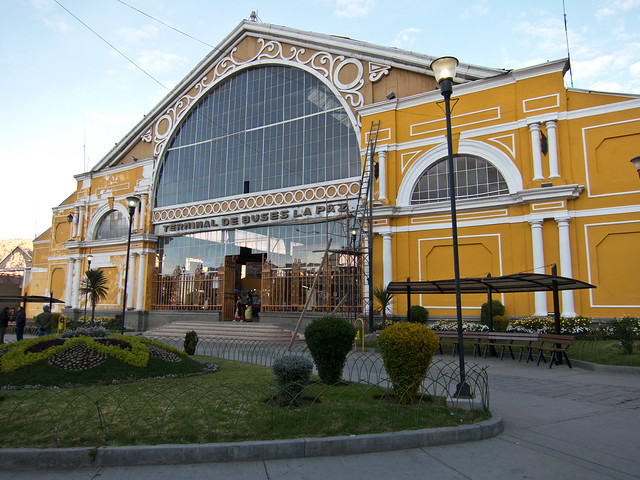 La Paz bus terminal
