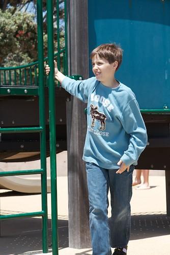 JD at Seashore Playground
