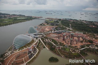 Singapore - View from Marina Bay Sands