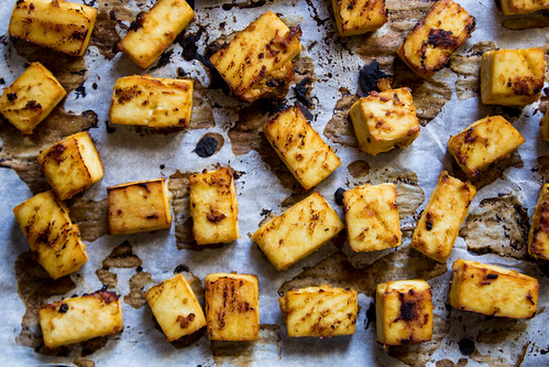 miso roasted tofu