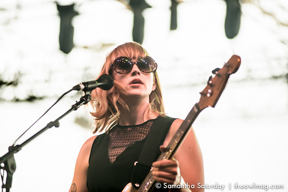 Wye Oak @ Coachella 2014 Weekend 2 - Friday