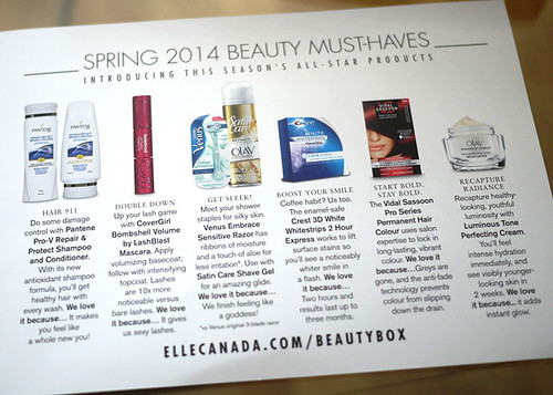 Elle Canada Beauty Box