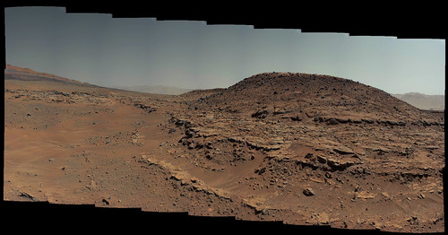 Curiosity sol 603 MastCam left - Mount Remarkable