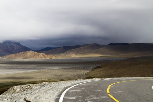 china light mountain landscape amazing highway xinjiang karakoram tajikistan uyghur niragag