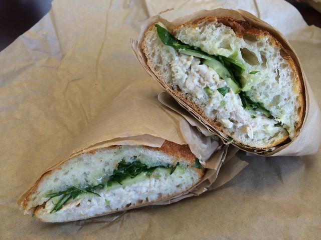 Crankshaft sandwich - Machine Coffee & Deli