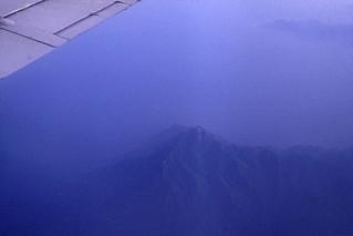 001Zypern Flug über Griechenland