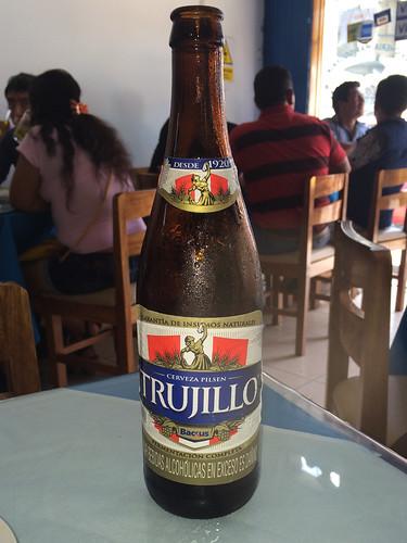 Trujillo: une bonne bière de la ville !