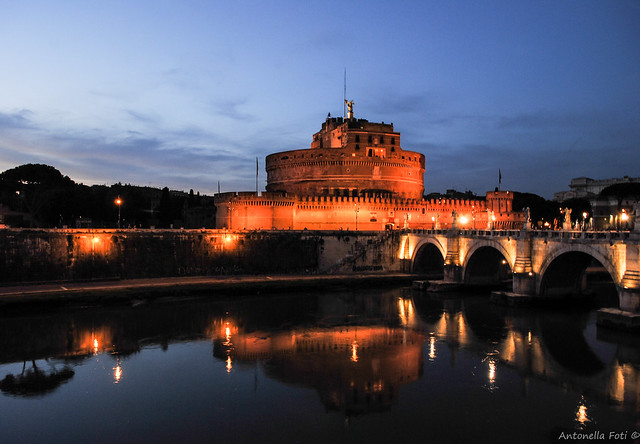 Castel Sant'Angelo reflection - Rome