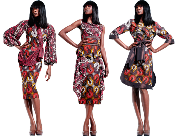 SILENT EMPIRE : THE POWER OF SUBTLETY - Vlisco's First Fabric Collection of 2012