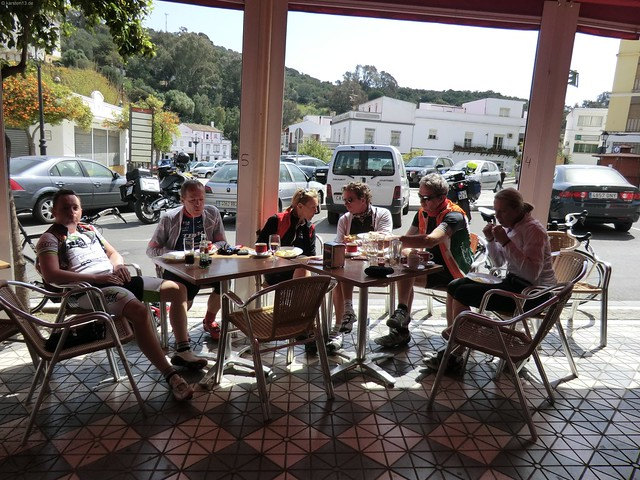 Kaffeepause in Alcala