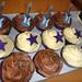 Guitar Star Cupcakes - Choc Vanilla