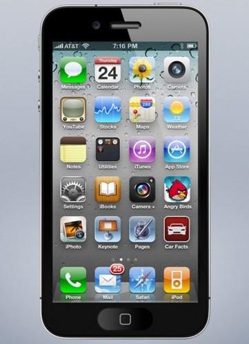 4インチ版iPhoneの新たなモックアップ画像 - 気になる、記になる…