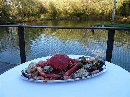 Le plateau de fruits de mer 100 % iodé, le Finistère, Bretagne, visitez la pointe du raz et Locronan.