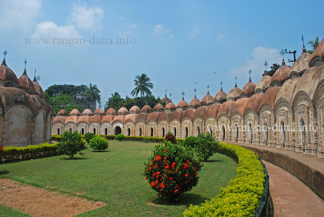 108 Shiva Temples of Ambika Kalna, Burdwan