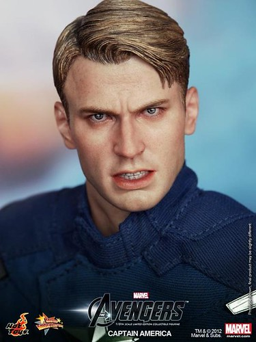 Hot Toys 1/6 The Avengers: Captain America