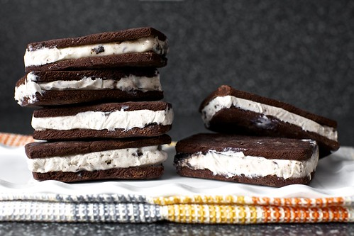 definitely homemade ice cream sandwiches