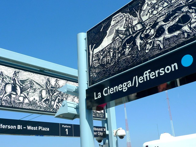 Art at La Cienega