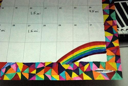 calendar doodles