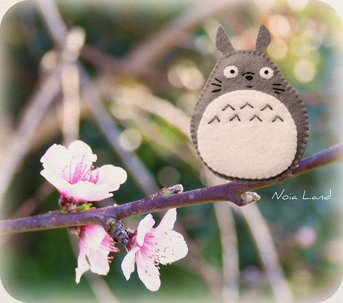 Brochecito Totoro