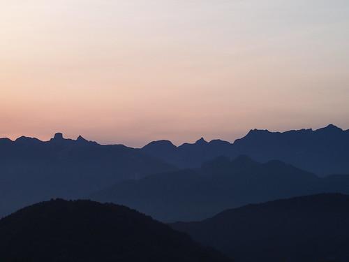 觀霧看大霸尖山
