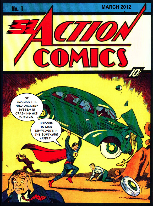 SLAction Comics 1