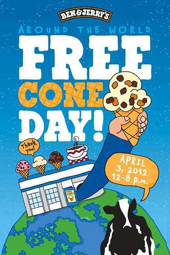 Ben & Jerry's Free Cone Day 2012