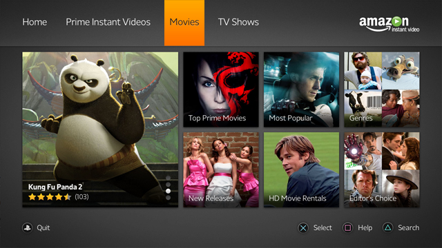 amazon instant video - movies