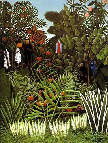 Henri Julien F_lix Rousseau - Exotic Landscape