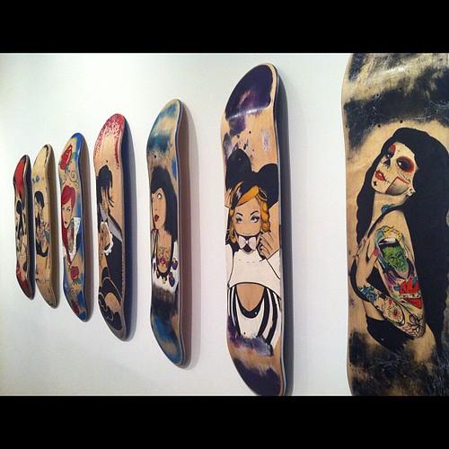 #PaintedBeauty by Michael Pizarro opens tmw! 4/7/12