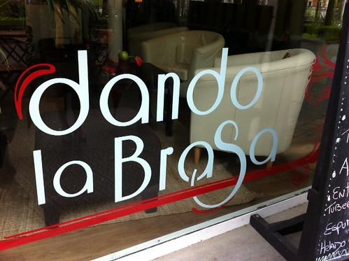 Dando La Brasa en Bilbao by LaVisitaComunicacion