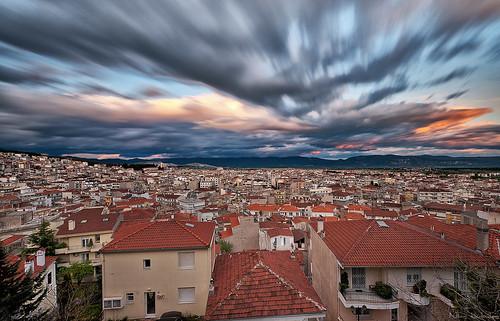 無料写真素材, 建築物・町並み, 都市・街, 雲, 風景  ギリシャ