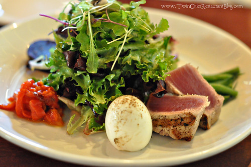 Nicoise Salad at Barbette ~ Minneapolis, MN