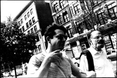 Allen Ginsberg and Bob Rosenthal