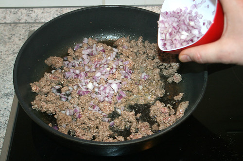 20 - Zwiebeln mit anbraten / Roast onions gently