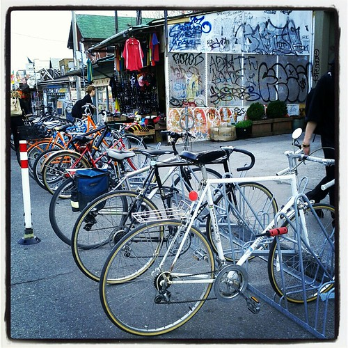 the bike corral returns!
