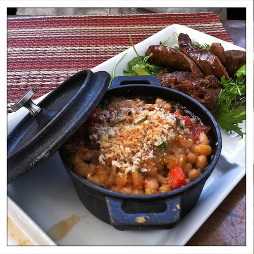 "Wine Cask: Duck Cassoulet ""Trio"""