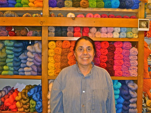 Rita Bobry of Downtown Yarns