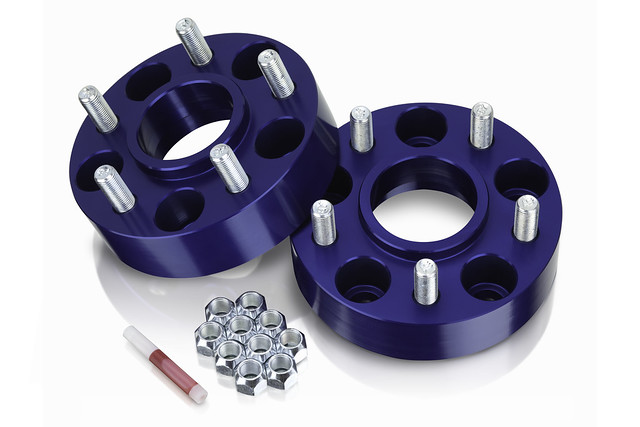 "Spidertrax Jeep 5 on 4-1/2"" x 1-1/2"" Thick Wheel Spacer Kit (Pair)"