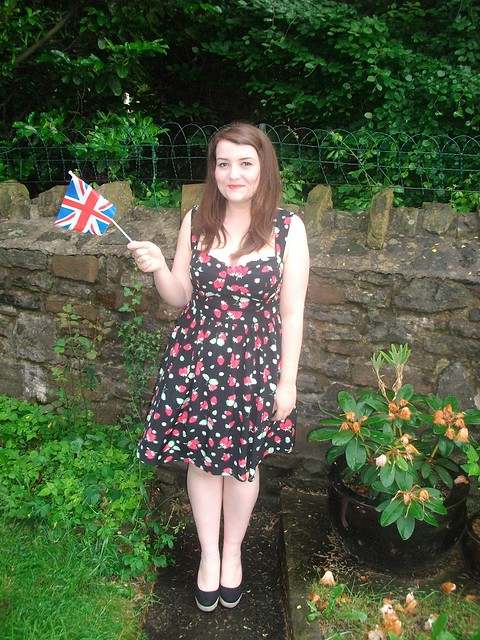 50s dress, jubilee, george asda