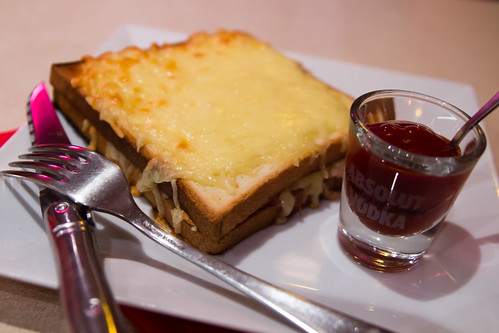 Croque Monsieur at Jean Nicot