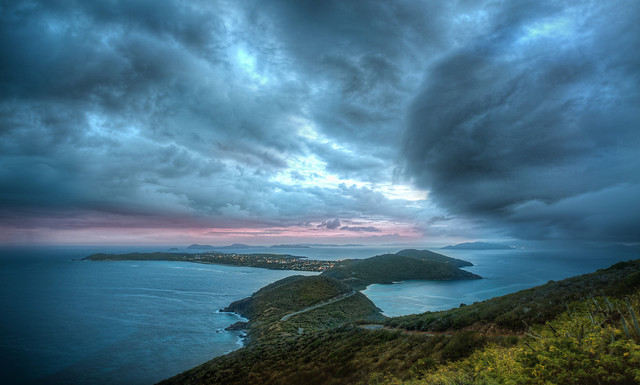 Massive Storm hits Virgin Gorda