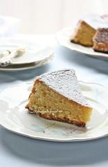 Torta caprese al limone (e olio evo)