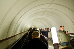 Escalateurs infini dans le métro
