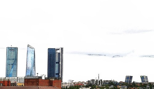 Skyline Madrid by margalice / marga
